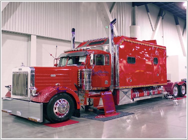 Peterbilt and Kenworth... Class Trucks.